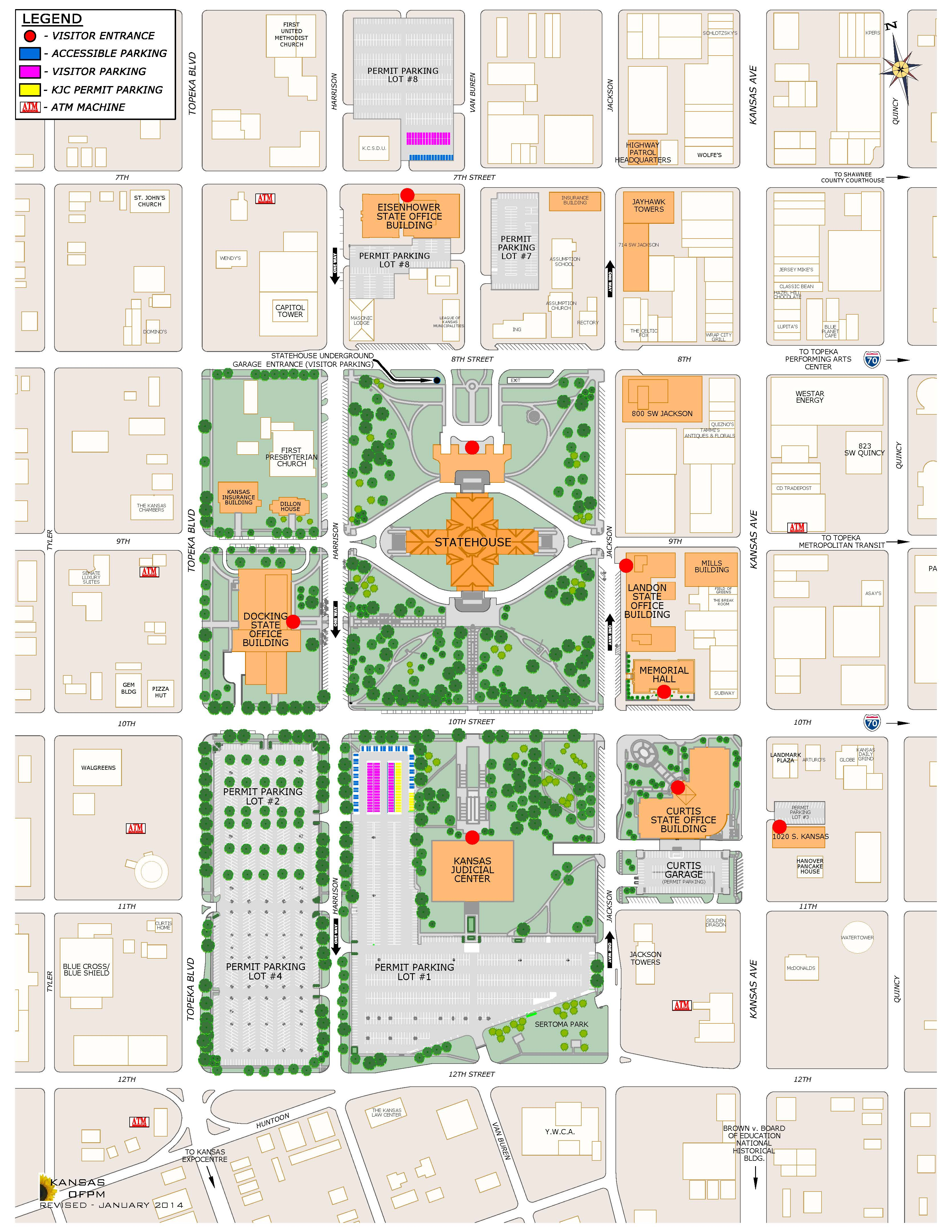 PARKING updatedcapitolcomplexsiteplan2011